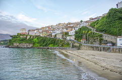 Lastres beach, Spain Royalty Free Stock Image