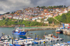 Lastres, Spain Royalty Free Stock Images