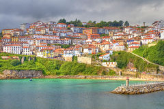 Lastres, Spain Stock Images