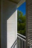 Lasts shutters Royalty Free Stock Images