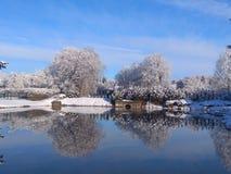 Last snow stock photography