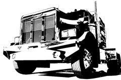 Lastwagen Lizenzfreies Stockbild