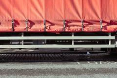 Lastwagenabdeckung Stockfotografie