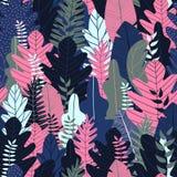 lasu deseniowy bezszwowy również zwrócić corel ilustracji wektora Obrazy Stock