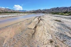 Lasu Flechas wąwóz w Salto, Argentyna Zdjęcie Royalty Free