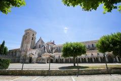 Lasu Huelgas opactwo blisko Burgos w Hiszpania Obrazy Royalty Free