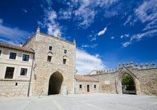 Lasu Huelgas opactwo blisko Burgos w Hiszpania Zdjęcie Royalty Free