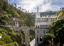 Lasu Lajas sanktuarium - Ipiales, Kolumbia Fotografia Stock
