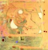lasu obraz olejny krajobrazowa rzeka royalty ilustracja