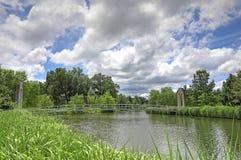 Lasu park w St Louis, Missouri zdjęcie royalty free
