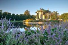 Lasu Parkowy bandstand w St Louis, Missouri obraz stock