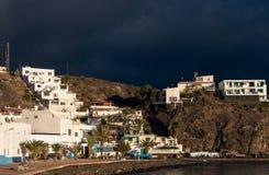 Lasu Playitas wioski Fuerteventura wyspy kanaryjska Obrazy Royalty Free