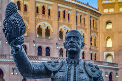 Lasu Ventas Bullring w Madryt, Hiszpania Zdjęcie Royalty Free