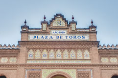 Lasu Ventas Bullring w Madryt, Hiszpania Fotografia Stock