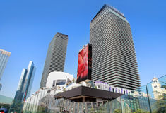 LasVegas hotels and casino. LAS VEGAS - NOV 05: LasVegas hotels and casino on November 05, 2016 in Las Vegas. Cosmopolitan of Las Vegas sold to Blackstone Group Stock Photo