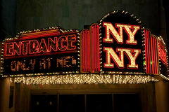 LasVegas Newyork Newyork hotel Stock Photos