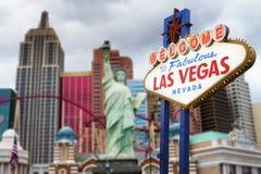 lasy podpisują Vegas Fotografia Stock