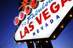 lasy podpisują Vegas Zdjęcie Stock