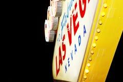 lasy podpisują Vegas Obrazy Stock