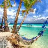 Lasy tropical vacation Stock Image