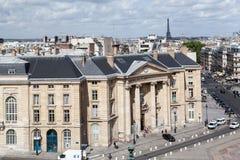 Latín París Francia de Quartier Imagenes de archivo