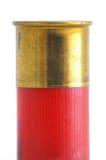 Latón en shell de escopeta Foto de archivo libre de regalías