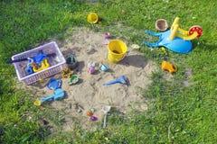 Lat children boisko Zdjęcie Royalty Free