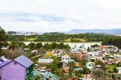 Lat du DA de paysage urbain, Vietnam images stock
