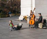 Lat eftermiddag i Manhattan Arkivbilder