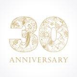30 lat luksusowych Obrazy Stock