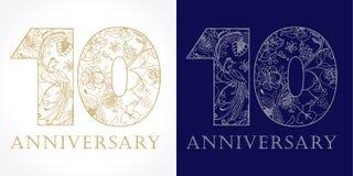 10 lat luksusowych Zdjęcia Royalty Free