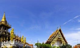 Lat Phrao Wat расположенное на Ladprao Wanghin Rd, Lat Phrao Khwaeng, стоковая фотография