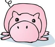 lat pig för tecknad film Arkivbild