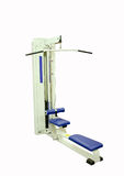 Lat pull down machine Stock Photography