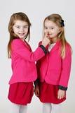 6 lat siostr Zdjęcie Stock