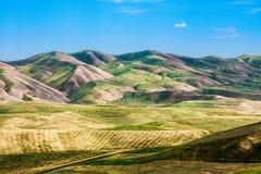 Lat wzgórza w Chui dolinie Obrazy Royalty Free
