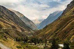 Lat wzgórza w Chui dolinie Zdjęcie Stock