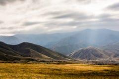Lat wzgórza w Chui dolinie Obraz Royalty Free