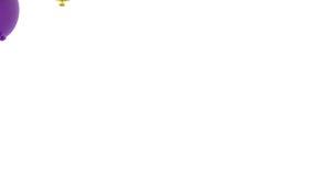 Latać balony royalty ilustracja