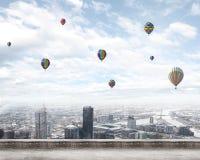 Latać balony Fotografia Royalty Free