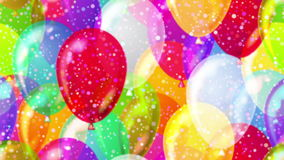 Latać balony, bezszwowa pętla