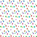 Latać balony różni kolory Fotografia Royalty Free