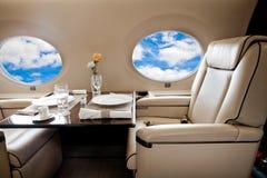 Latać klasa business samolotem Obraz Stock