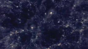 Latać przez gwiazdowego pola w kosmosie Nieskończony kosmosu pole royalty ilustracja