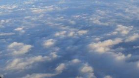 Latać przez nieba i chmur zbiory wideo
