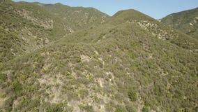 Latać w Południowego Kalifornia górach zbiory