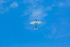 Latać WW2 cholernika samolot fotografia stock