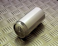 Lata de alumínio Fotos de Stock