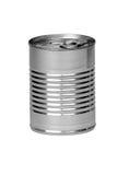 Lata de alumínio Imagem de Stock Royalty Free