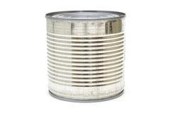 Lata de alumínio com nervuras Fotografia de Stock Royalty Free